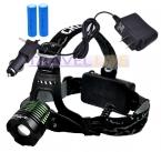 3000Lm CREE XM-L T6 LED Увеличить Headlight Фар Масштабируемые фара   2*18650 Аккумулятор   Зарядное устройство   автомобильное зарядное устройство