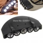 Головная Лампа 5 LED Головной Свет Рыбалка Отдых На Природе Охота Туризм Hat Факел Охота Крышка Нового Типа