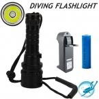 CREE XML L2 LED 3800 Люмен 100 м Подводный diver 18650 Фонарик Факел Свет Лампы Водонепроницаемый