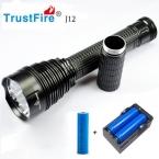 1 ШТ. Trustfire TR-J12 Фонарик 5 Режим 4500 Люменов 5 X CREE XM-L T6 СВЕТОДИОДНЫЙ Водонепроницаемый TorchCome с 18650   зарядное устройство