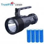 DF009 CREE XHP70 LED 1600 Люмен 2 Режимов TrustFire Дайвинг Фонарик Факел Lanterna Мощность На 4*18650 Батарей