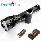 1 ШТ. Trustfire TR-J12 Фонарик 5 Режим 4500 Люменов 5 X CREE XM-L T6 LED с 26650 Батареи Водонепроницаемый Высокой Мощности факел