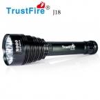 1 ШТ. Trustfire TR-J18 Фонарик 5 Режим 8000 Люмен 7 Х CREE XM-L T6 LED от 18650 или 26650 Батарей Водонепроницаемый Высокой Мощности факел