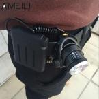 Светодиодный фонарик XML T6 2000Lm на голову с изменяемым фокусом и питанием от батареек АА (4шт)