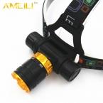 XML-T6 LED 3800 Люмен 5-режим Погружения Водонепроницаемый Дайвинг Фары Фара Подводные работы Фонарик факел Свет лампы