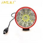 20000lm LED 10 * XM-L T6 LED 8.4 В Передняя Велосипед Велоспорт Лампы Велосипед свет 3 Режим Головной фонарь фар