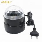 3 Вт Мини RGB LED Кристалл Magic Ball Освещение Сцены Эффект Лампа Партии Дискотека DJ Light Show ЕС/США Plug   Цвет КОРОБКА