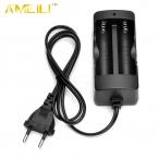 AC 110 В 220 В Dual ЕС Подключите Зарядное Устройство Для 18650 3.7 В Литий-Ионная Аккумуляторная Батарея