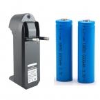 ЕС/США Зарядное Устройство   2 шт. 18650 6000 мАч 3.7 В Литиевая Аккумуляторная Батарея Для Фонари/Лазеры фары Бесплатная Доставка