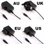 США ЕС AU ВЕЛИКОБРИТАНИЯ Plug Многофункциональный 100-240 В вход 4.2 В 500ma Зарядное Устройство для 3.7 В литий-ионный аккумулятор СВЕТОДИОДНЫЙ Фонарик Бесплатная Доставка