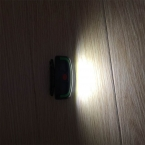 3 Цвета СВЕТОДИОДНЫЕ Мини COB Фара Рыбалка Открытый Отдых Езда Свет ПВХ 3 режима Фары использовать 3 * AAA батареи перевозка Груза падения