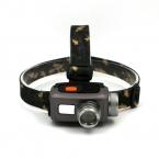 Ультра-яркий Масштабируемые 3 режим СВЕТОДИОДНЫЕ фары формы Камеры фары свет лампы Факел Lanterna с Оголовьем использование AAA/18650 батареи