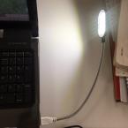 Новые Гибкие 31.4 см Ультра Яркий Мини 15 СВЕТОДИОДОВ Компьютер USB Свет Лампы Для ПК Ноутбук Удобным для чтения