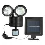 450LM 22 Solar Power LED Street Light PIR Датчик Движения Сад Безопасность Лампы Открытый Уличный Водонепроницаемый Настенные Светильники