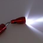 Алюминия Высокого Качества Кемпинг Рабочий Потепление Свет Факела с Магнитом мощный Ночная/Фонарик
