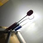 Многофункциональный портативный светодиодный мини огни водонепроницаемый ночь свет Синий Красный Черный 27.5*3.9 см ремонт освещения