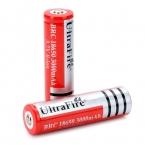 2 шт./лот UltraFire BRC 18650 3000 мАч Литий-Ионные Аккумуляторные Батареи 18650 Батарея для фонари
