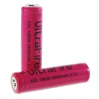 "UltraFire Protected 18650 3.7 В ""2600 мАч"" Литиевые батареи-Красный (2-Battry Pack)"