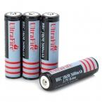 (4 Шт./компл.) UltraFire 2160 мАч Аккумуляторная 18650 Батареи 3.7 В Литий Защищенный 18650 Батарея для Фонари