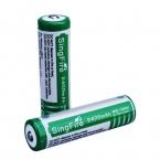 2 шт./лот SingFire 2400 мАч 3.7 В аккумуляторная 18650 литий-ионный или защитной схемной 18650 для фонарей