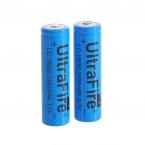 2 шт./лот 18650 3.7 В 2400 мАч литиевые батареи высокое качество 18650 Li - литий-ионные аккумуляторы для фонарей