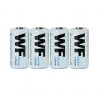 4 шт./лот WF CR123A 3 В первичная литиевая батарея для факел фонарик бесплатная доставка