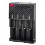 LusteFire F4 Зарядное Устройство для 22650/18650/17670/18490/17500/17335