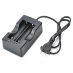 Двухслотовой 18650 зарядное устройство многоцелевой литиевая батарея зарядное устройство для 18650 батарей ( 100 - 240 В ) аксессуары из фонари