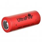 UltraFire 26650 6000 мАч 3.7 В Литий-Ионный Аккумулятор-Красный   Черный