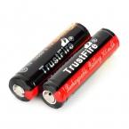2 шт./лот TrustFire защищенный 14500 3.7 В 900 мАч литиевых аккумуляторных батарей для фонарей