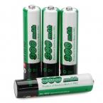 4 шт./лот Soshine 1.2 В 900 мАч батарейки ааа никельные AAA аккумулятор для цифровых устройств, Фонари