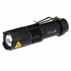 UltraFire UK68 XP-E Q5 LED 3-Mode Белый Светодиодный Фонарик (1x14500/AA) масштабируемые мини СВЕТОДИОДНЫЙ Фонарик