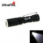 UltraFire Мини СВЕТОДИОДНЫЙ 280lm 3-Mode Холодный Белый Светодиодный Фонарик-Черный