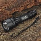 UltraFire С2-T60 HA-III 2-Mode 975LM Белый СВЕТОДИОДНЫЙ Фонарик ж/Ремешок-Черный (1x18650)