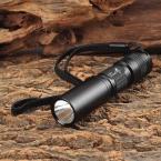 UltraFire MTT-33 Мини C3 405nm 1-LED Текстурированные Фиолетовый Свет Фонарика-Черный (1 х АА)