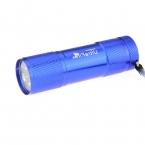 Ultrafire 9-LED 80lm Белый Свет 1 режим СВЕТОДИОДНЫЙ Фонарик Факел Карманный СВЕТОДИОДНЫЙ Лампы-Синий (3 * AAA)