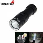 UltraFire XM-L2-F3 IPX6 Водонепроницаемый LED Дайвинг Фонарик 1000 Люмен Регулируемая Белый Свет СВЕТОДИОДНЫЙ Фонарь Для Дайвинга (1*18650/26650)