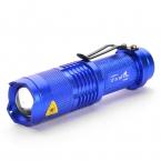 UltraFire UK68 380lm XP-E Q5 LED 1-Mode Белый Свет Масштабируемые Фонарик мини Факел Фонарик (1 * AA/14500)