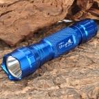 UltraFire WF-501B фонарик 350lm Белый Свет Фонарика-Синий (1x18650/2x16340)