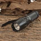UltraFire W-878 900lm 5-режим СВЕТОДИОДНЫЙ Фонарик   1*18650 батарей   1 * зарядное устройство CREE T6 Белый Свет Масштабирование фонарик Масштабируемые Факел