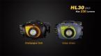 новое прибытие Fenix HL30 Cree XP-G2 R5 LED и Nichia Красный Свет LED 230 Люмен Использовать Батареи AA