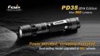 FENIX PD35  Edition CREE XM-L2 U2 LED 6 Режим Макс 960 Люмен Водонепроницаемый Спасательной Поиск Факел Фонарик