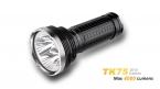 NEW светодиодный фонарик лампы освещения Fenix TK75  CREE XM-L2 4000lm СВЕТОДИОДНЫЙ Фонарик Long Shot (4x18650)