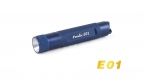 Fenix E01 LED Мини Брелок Фонарик Золотой подарок фонарик ААА батареи фонарик