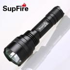 Supfire с8 кри XPE 10 Вт из светодиодов 900lm тактический фонарь из светодиодов факел с дальней дистанции и прожектор эффект для на 18650