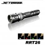 Jetbeam RRT26 Cree XM-L2 T6 980 люмен Светодиодный Фонарик с Красный/Зеленый/Синий/Лозы Светодиодные Фонари на 18650 Аккумулятор для Самообороны