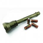 1 Компл. TrustFire Светодиодный Фонарик АК-90 12 * CREE XML-T6 13000 Lm 5-режим Тактический Фонарик ж/4x26650 батареи для Кемпинга
