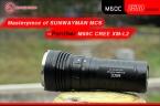 SUNWAYMAN M60C cree xm-l2 CR123 18650 тактический кемпинг оборудование супер мощный светодиодный фонарик torche тактический туристическое снаряжение