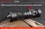 SUNWAYMAN C15A открытый CREE xml-2 небольшой светодиодный фонарик А. А. 14500 мини тактический оборудование фонарик водонепроницаемый lanterna