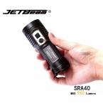 1 Компл. Оригинал JETBEAM SRA40 Cree XM-L2 LED 960 люмен Светодиодный Фонарик Ежедневно Факел Совместим с 4 * AA батареи